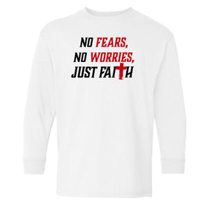 Youth No Fears, No Worries, Just Faith