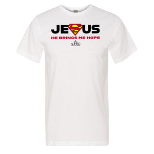 Mens Jesus Superman