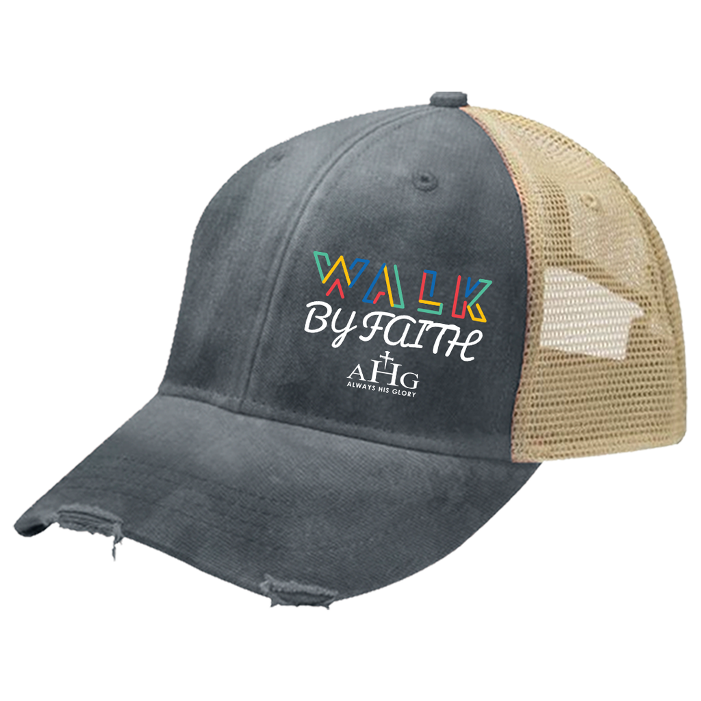 Walk By Faith Trucker Hat