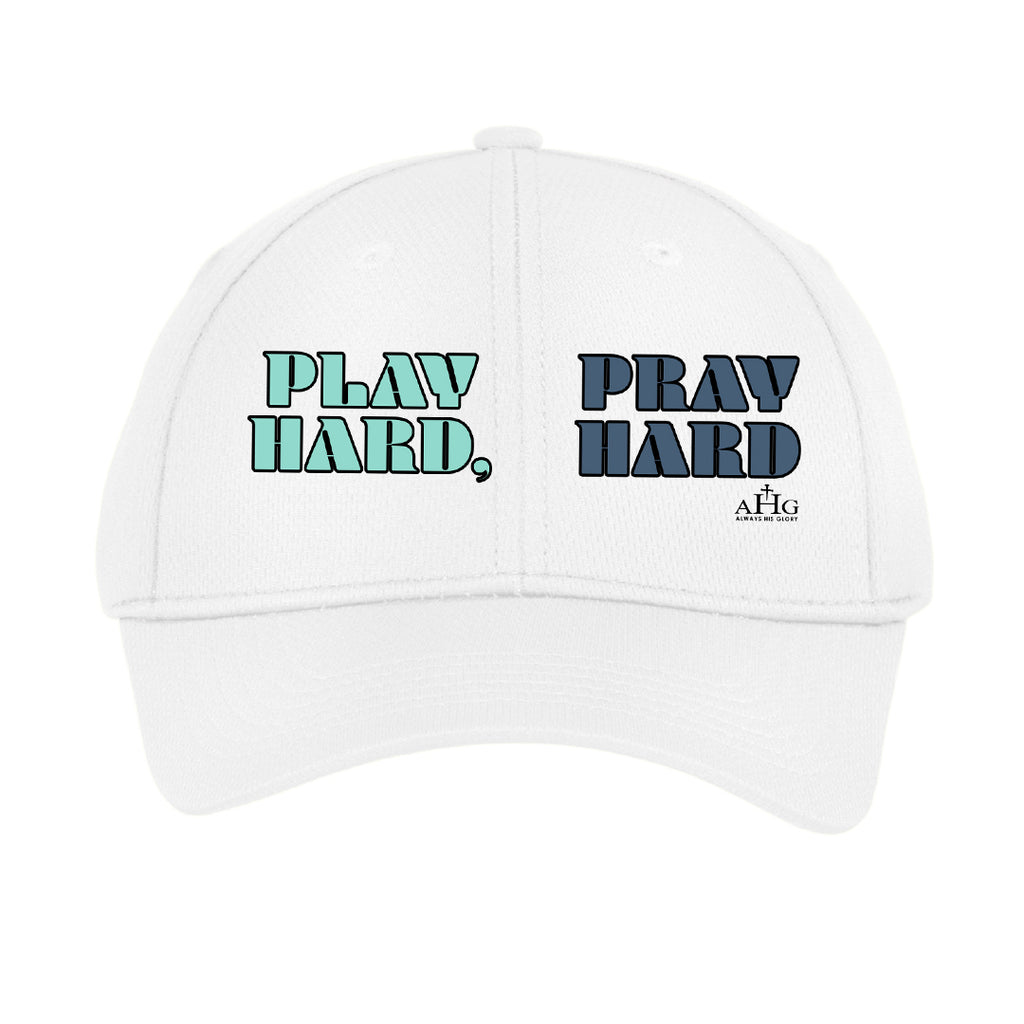 Play Hard, Pray Hard Youth Hat