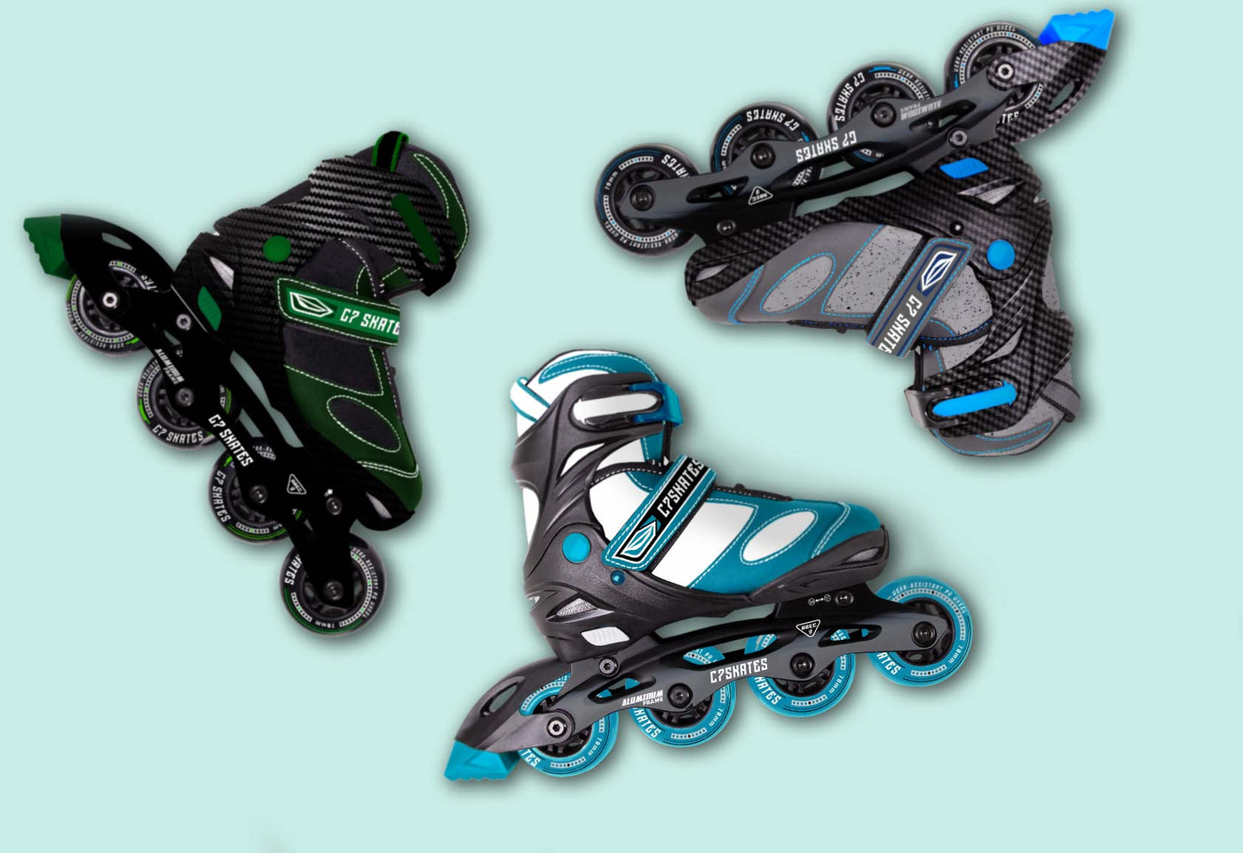 Inline Skate - Adjustable