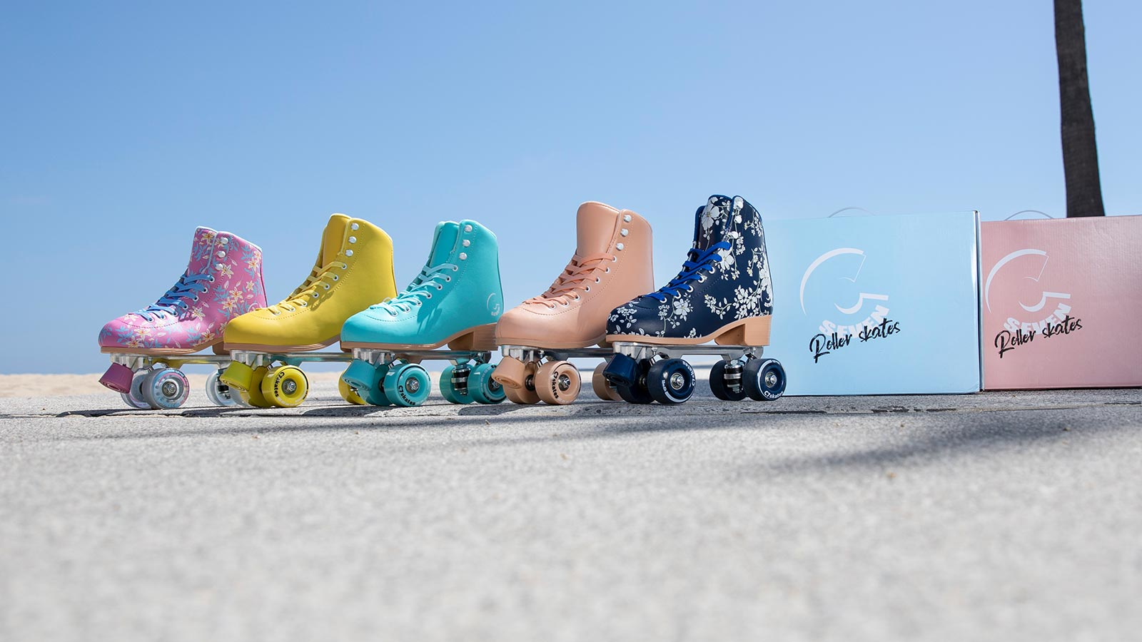 C7 Roller Skate Collection - Forget Me Not