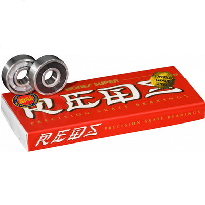 Bones Super REDS Skateboard Bearings (2 Pack)