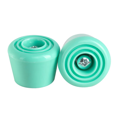 C7skates Mint roller skate stoppers made from durable polyurethane PU82A and measure 47 by 35 mm.