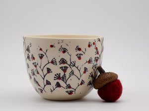 Tea Cup with Vines