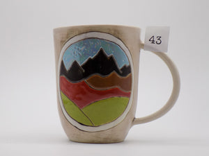 Large Porcelain Mugs