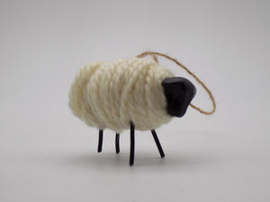Wooly Sheep Ornament