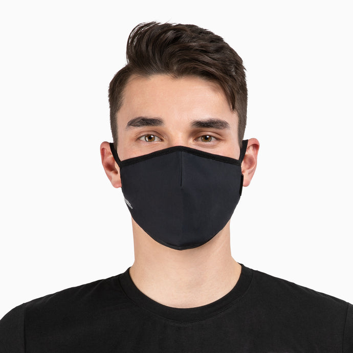 NonZero Gravity antibacterial SilTex Performance Mask - Black