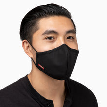 ZinTex Antimicrobial Sports Mask Black