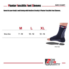 NonZero Gravity Planter Fasciitis Foot Sleeves