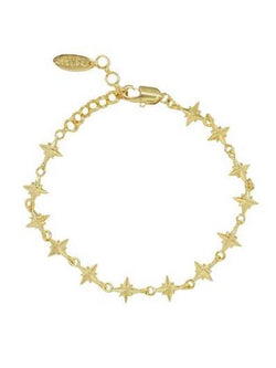 18kt Gold Plated The Northern Star Bracelet - My Bikini Flex