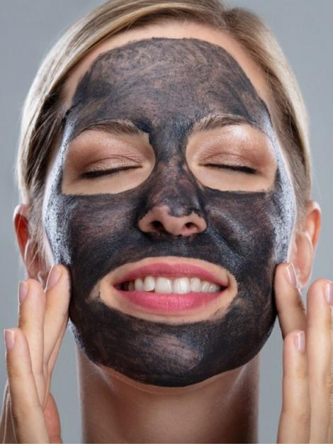 Activated Charcoal Detoxifying Nourishing Facial Deep Pore Cleanser Mud Mask - My Bikini Flex