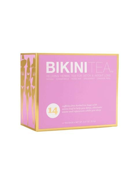Bikini Tea - Caffeine Free Herbal Toxin Flush For Flat Tummy - My Bikini Flex