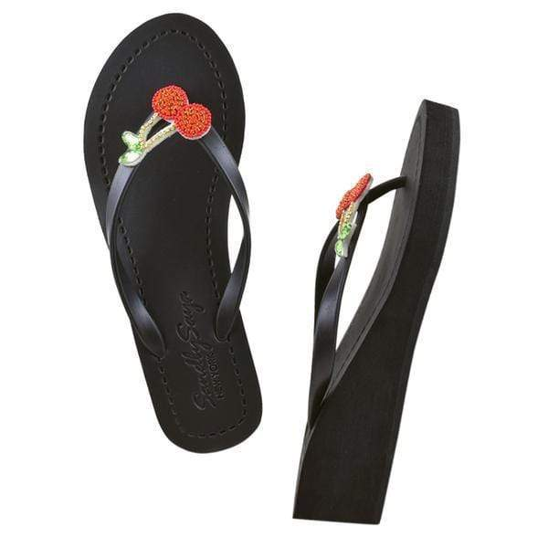 Cherry - Women's Mid Wedge Sandal - My Bikini Flex