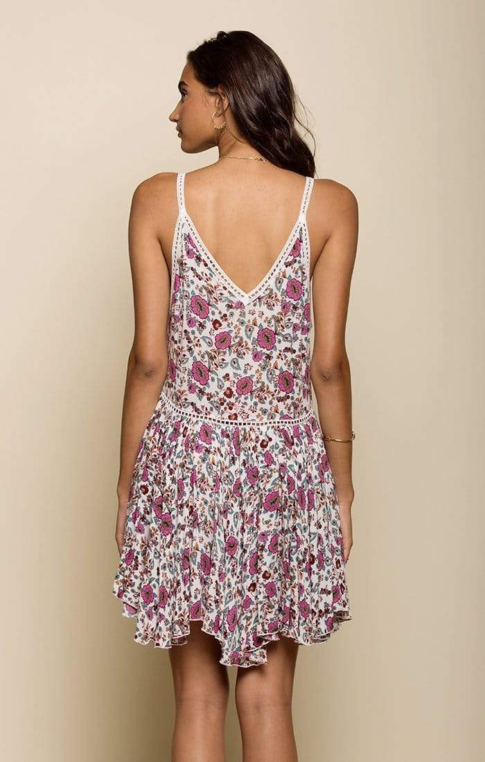 Bloom Short Sleeveless Beach Summer Dress - My Bikini Flex