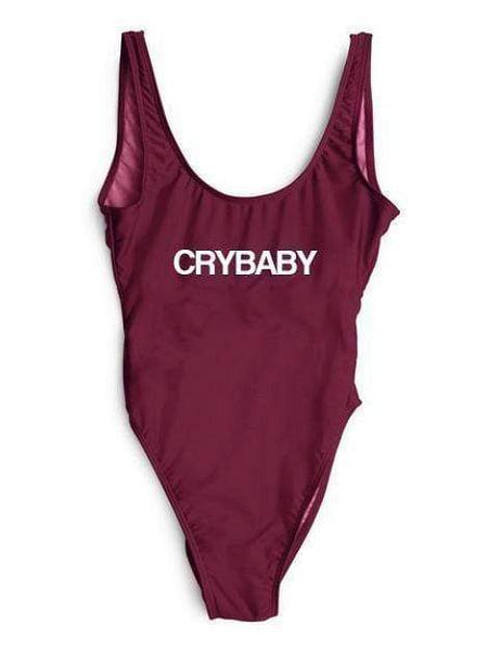 """Crybaby"" One Piece Bikini Swimsuit - My Bikini Flex"