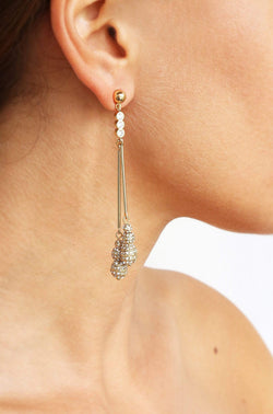 Crystal Berry Dangle Earrings - My Bikini Flex