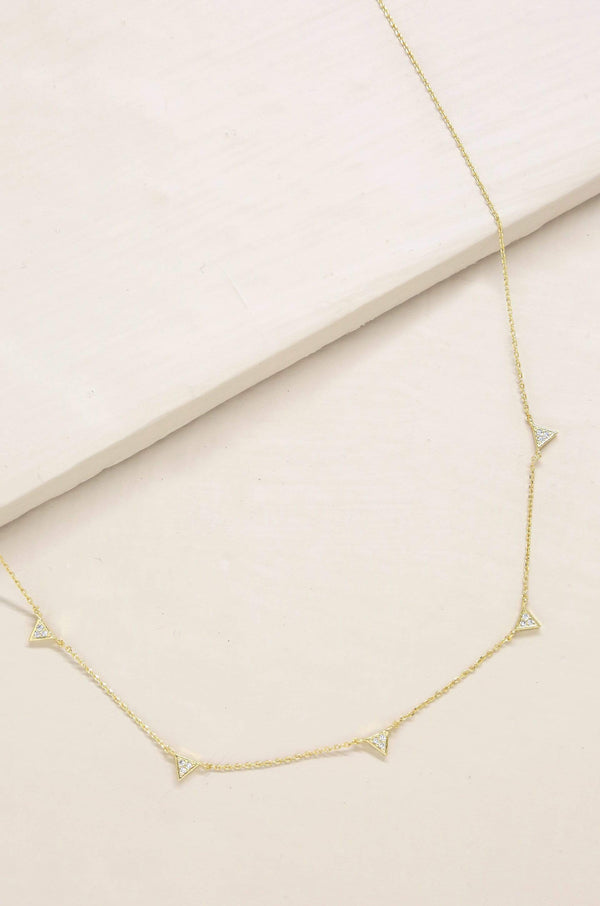 Delicate Addition Crystal Necklace - My Bikini Flex