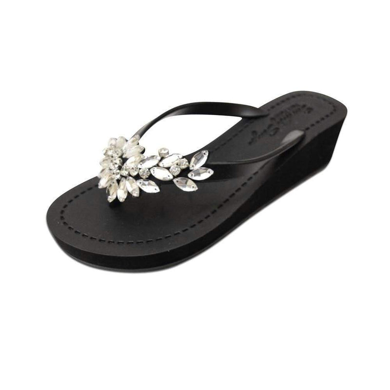 Manhattan (Crystal) - Women's Mid Wedge Sandal - My Bikini Flex