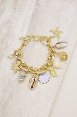 Mermaid Tears Bracelet in Gold - My Bikini Flex