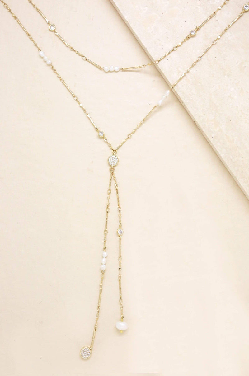 Multi-Chain Freshwater Pearl Necklace - My Bikini Flex