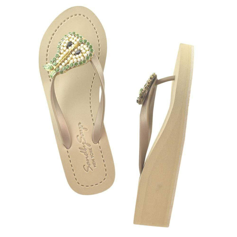 Pear - Women's Mid Wedge Sandal - My Bikini Flex