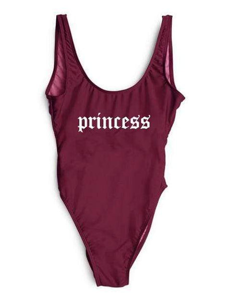 """Princess"" One Piece Bikini Swimsuit - My Bikini Flex"
