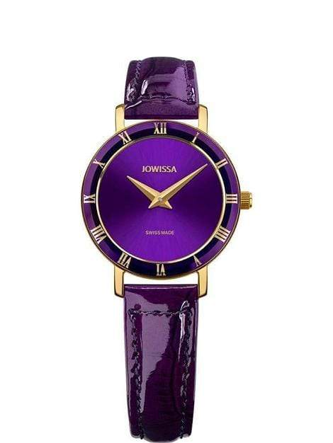 Roma Swiss Ladies Luxury Purple Leather Watch J2.293.S - My Bikini Flex