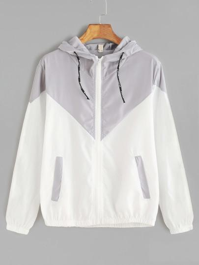 Women's Drawstring Sporty Grey Hoodie - My Bikini Flex