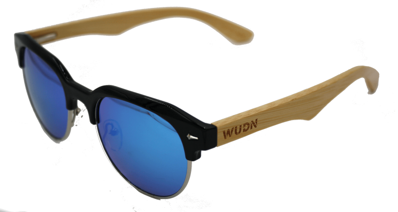 Women's Ebony Wood Beach Days Vintage Sunglasses - My Bikini Flex