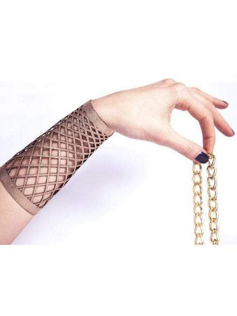 Women's Long Gold Cuff Bracelet V2 - My Bikini Flex