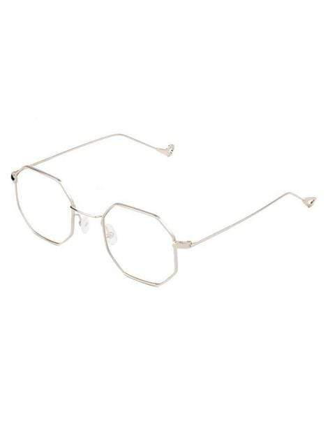 Women's Vintage Round Clear Fashion Sunglasses - My Bikini Flex