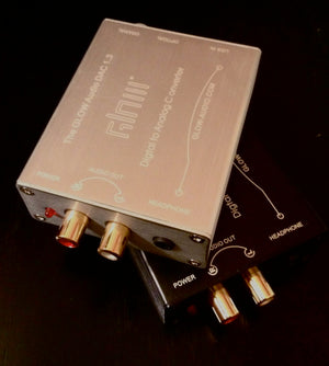 GLOW DAC: USB Powered Digital to Analog Converter
