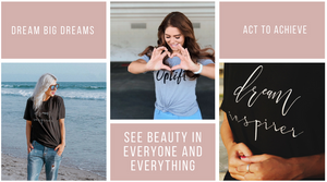 Dream Inspirers Inspirational Shirts