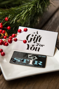 STIR Raleigh Gift Card