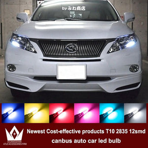 Tcart 4x LED CANBUS 2835 Chip Clearance Lights For lexus rx300 is250 rx 330 gs300  gx470 lx470 accessories - BtecRacing