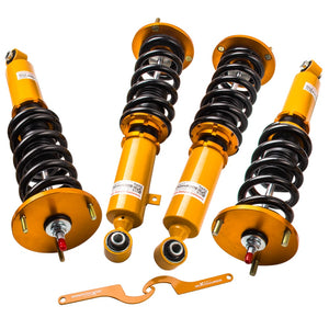 Full Assembly Coilover Kits For MK3 87-92 Toyota Supra 24 Way Adjustable Damper Damper & Height Shocks Coilovers Springs - BtecRacing