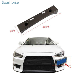 Soarhorse for Mitsubishi Lancer EX Modified EVO license plate frame registration plate bracket holder - BtecRacing