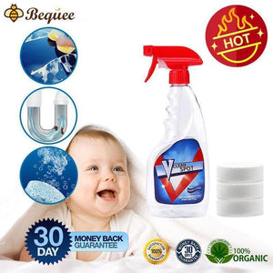 Multifunctional spray cleaner