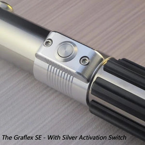 The Force FX lightsaber of the Black Series