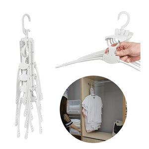 8 in 1 360 Degree Rotating Folding Hangers