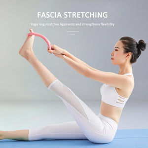 Home Fitness Beautiful Back Stretching Cervical Yoga Ring