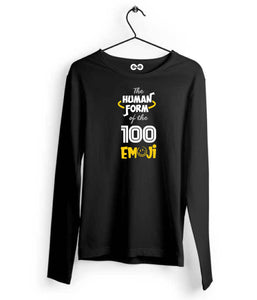 100 Emoji Long Sleeves