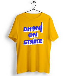 Dhoni On Strike T-Shirt