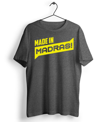Made In Madras Charcoal Grey - Almytees