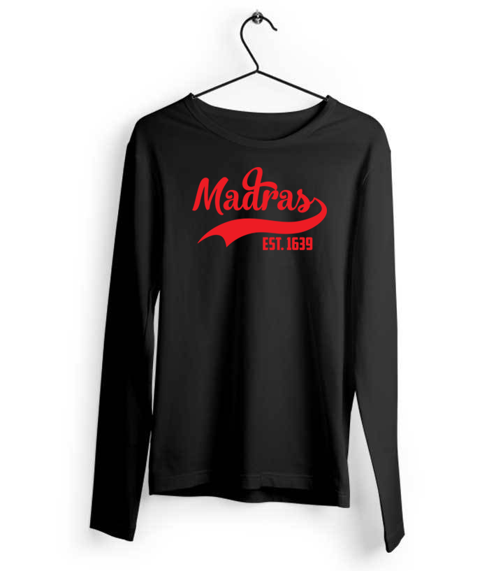 Madras Long Sleeves T-Shirt - Almytees