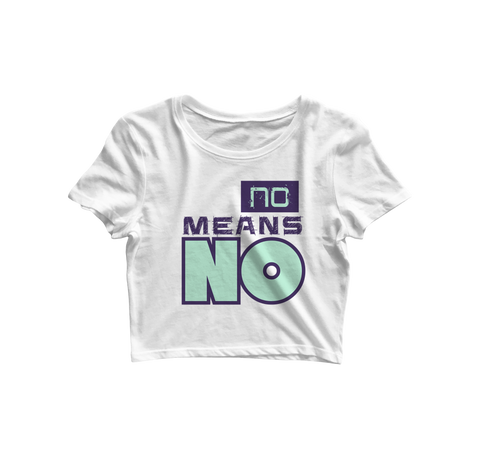 No Means No White - Almytees