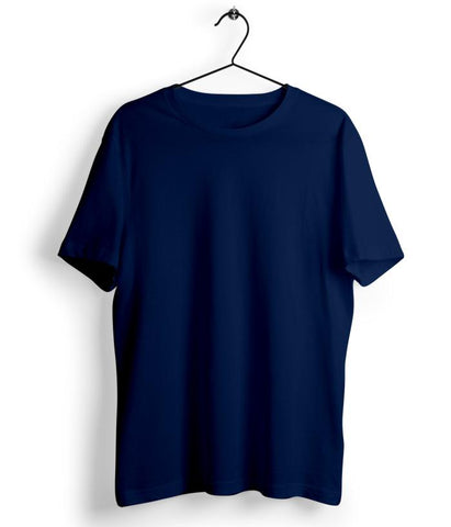 Solid Navy Blue T-Shirt