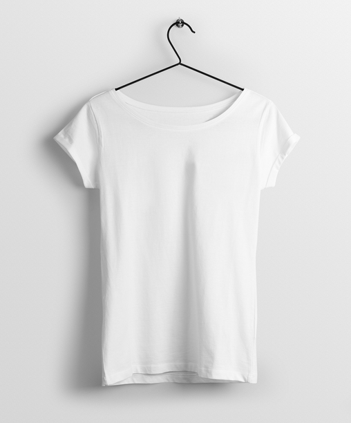 White Women T-Shirt - Almytees