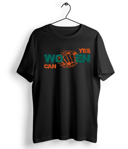 Yes Women Can T-Shirt - Almytees